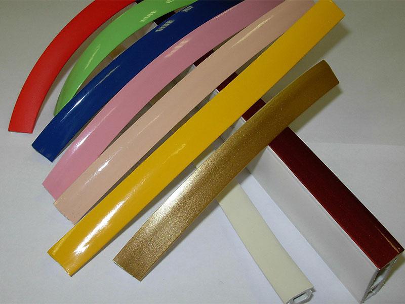 Накладка на багет - декоративная лента (для разделительного багета цвета 303.347.501.555)