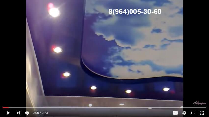 Потолочные светильники - вариант дизайна