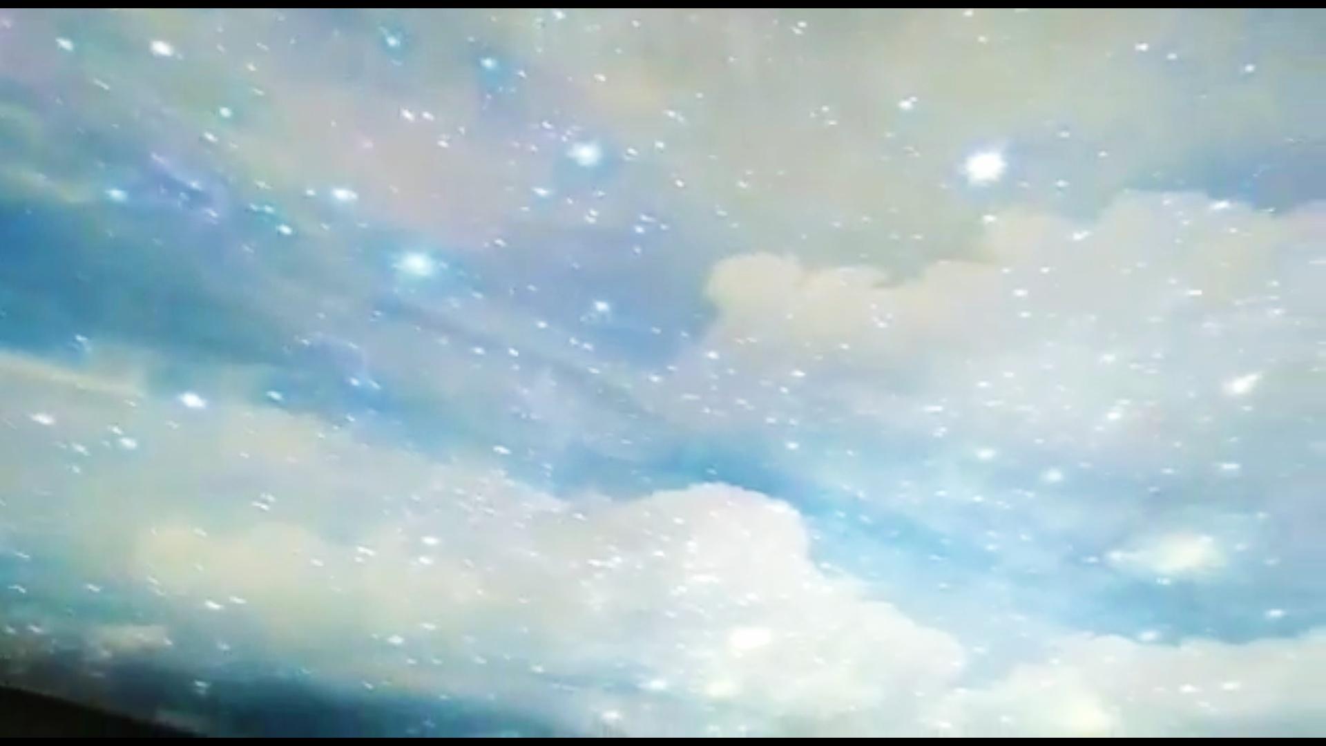 Натяжной небесный потолок. Очень красиво...