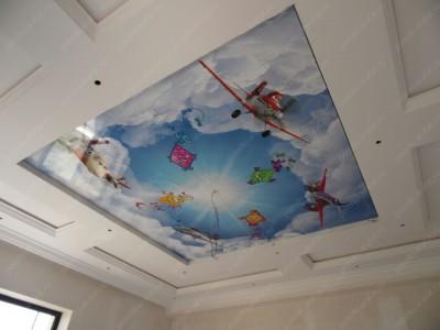 Демонтаж/ремонт натяжных потолков