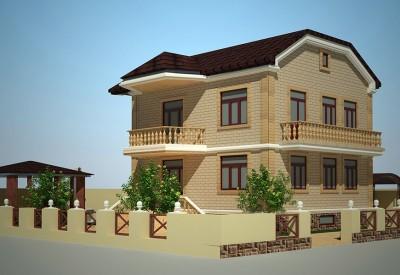 Дизайн фасада - фасады домов, фасады зданий